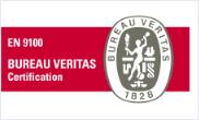 Sertifikovani prema zahtjevima EN 9100 i ISO 9001, od BVC London
