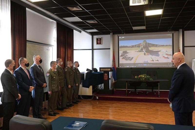 Potpisan ugovor za remont avionskih motora sa Ministarstvom odbrane Srbije